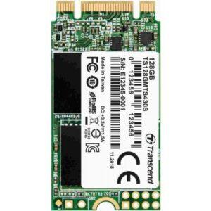 Накопичувач SSD M.2 2242 128GB Transcend (TS128GMTS430S)