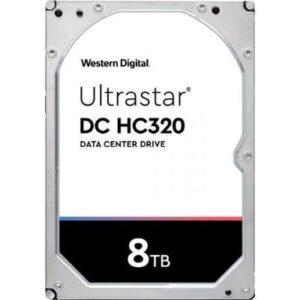 Жорсткий диск для сервера 3.5″ 8TB SAS 256MB 7200rpm WD (0B36400/HUS728T8TAL5204)