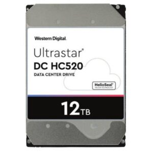 Жорсткий диск для сервера 3.5″ 12TB SAS 256MB 7200 rpm Ultrastar DC HC520 WD (0F29532/HUH721212AL5204)