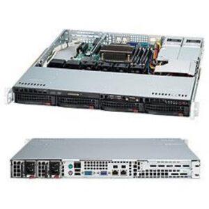 Серверна платформа Supermicro CSE-813MFTQC-R407CB