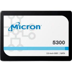 """Накопичувач SSD для сервера 240GB SATA 6Gb/s 5300 PRO Enterprise SSD, 2.5"""" 7mm MICRON (MTFDDAK240TDS-1AW1ZABYY)"""