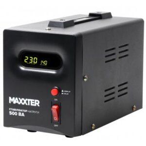 Стабілізатор напруги Maxxter MX-AVR-S500-01