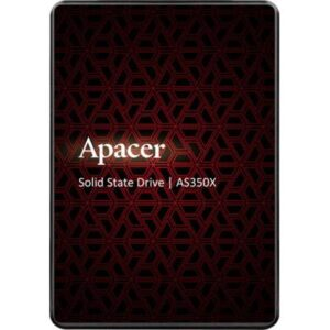 Накопичувач SSD 2.5″ 128GB AS350X Apacer (AP128GAS350XR-1)