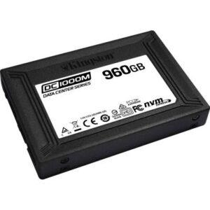 Накопичувач SSD U.2 2.5″ 960GB Kingston (SEDC1000M/960G)
