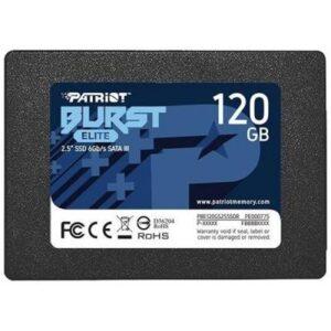 Накопичувач SSD 2.5″ 120GB Burst Elite Patriot (PBE120GS25SSDR)