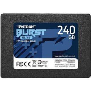 Накопичувач SSD 2.5″ 240GB Burst Elite Patriot (PBE240GS25SSDR)