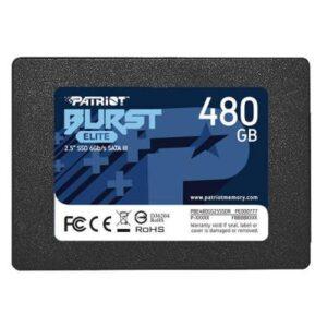 Накопичувач SSD 2.5″ 480GB Burst Elite Patriot (PBE480GS25SSDR)