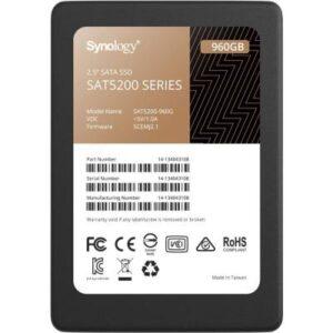 Накопичувач SSD для сервера 960GB SATA 2.5″ Synology (SAT5200-960G)