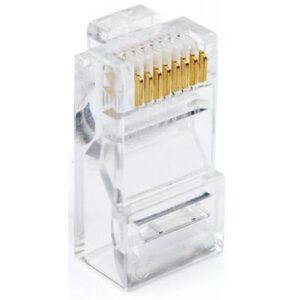 Конектор Atcom RJ45 cat.6 UTP 8p8c (100pcs/bag) (14373)