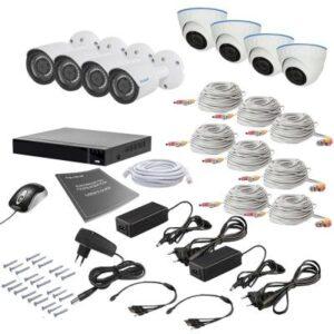 Комплект відеоспостереження Tecsar 8MIX 2MEGA (000008801)