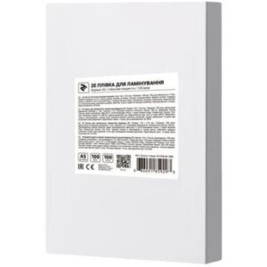 Плівка для ламінування 2E А4 80 мкн (100 шт.) (2E-FILM-A4-080G)