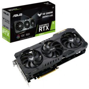Відеокарта ASUS GeForce RTX 3060 Ti 8Gb TUF OC GAMING V2 LHR (TUF-RTX3060TI-O8G-V2-GAMING)